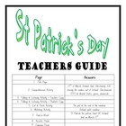 """THEME BOOKS"" - LOWER PRIMARY!! St Patricks Day Workbook!!"