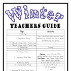 """THEME BOOKS"" - MIDDLE PRIMARY!! Winter Workbook!! AUS. ONLY"