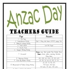 """THEME BOOKS"" - UPPER PRIMARY!! Anzac Day Workbook!! AUS. ONLY"