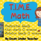 T.I.M.E. Guided Math set-up