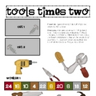 TImes Tables x2 - Tools Times Two