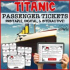 TItanic Passenger Tickets
