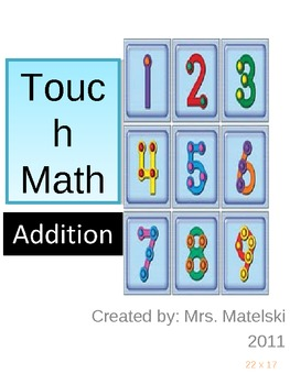 TOUCH math Single Digit Addition