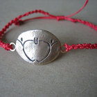 TPT Apple Logo Bracelet - Red