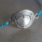 TPT Apple Logo Bracelet - Turquoise