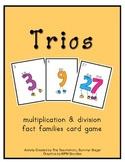 TRIOS - Multiplication and Division Card Game