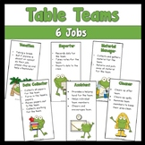 Table Team Jobs