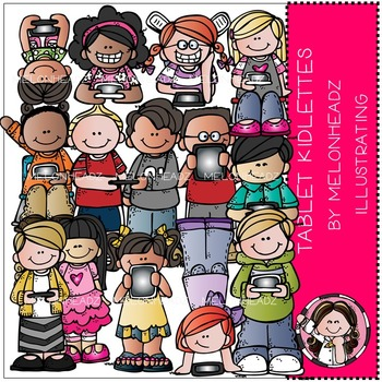 Tablet kidlettes by Melonheadz Illustrating
