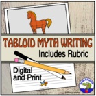 Tabloid Myth Writing Assignment with Rubric