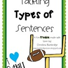 Tackling Types of Sentences- Fun and Versatile Freebie!