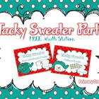 Tacky Sweater Party {Holiday Freebie}