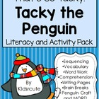 Tacky the Penguin Story Activities~That&#039;s so Tacky!