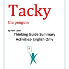 Tacky the Penguin Summary Activities English Only