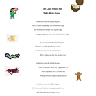 Taffy Birds Poem-Printable for Kid Use- Visualizing Skill