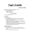 Tagi's Family - Short story full text and lesson