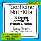 Take Home Math Kits: 24 Games for Students and Their Families