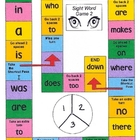 Take-Home Sight Word Boardgame 2
