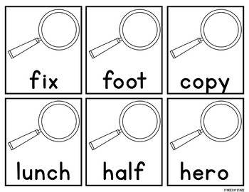 Take a Closer Look at Plurals, A Plural Word Sort