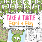 Take a Turtle - Games for Final Consonant Blends