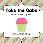 Take the Cake CVCe Word Game