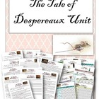Tale of Despereaux Unit - Comprehension and Vocab Words