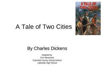 Tale of Two Cities - adapted book for learners with special needs