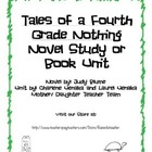 Tale of a Fourth Grade Nothing Novel Study/ Book Unit
