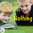 Tales of a 4th Grade Nothing Vocabulary Packet w/ Quiz