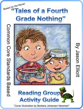 Tales of a Fourth Grade Nothing Activity Guide by Judy Blume