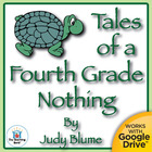 Tales of a Fourth Grade Nothing Novel Unit CD Common Core 