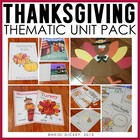 Talkin' Turkeys: A Thanksgiving Unit & Craft Pack