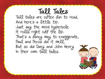 Tall Tales Literature Study