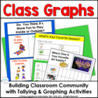 Tallies &amp; Graphs: Collecting Class Data