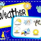 Tally, Graph, Chart & Write About the Weather