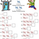 Tally Mark Chart Game Seatwork Fun Rhyme