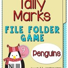 Tally Marks File Folder Game: Tally Penguins