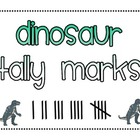 Tally Marks with Dinosaurs