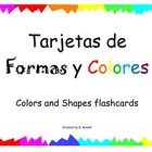 Tarjetas de Formas y Colores - Shapes and Colors Flashcards