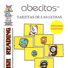 Tarjetas de las Letras del Alfabeto - ABC Flash Cards in Spanish