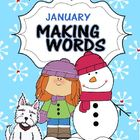 Taryn's Making Words For January