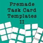 Task Card Frames and Borders 2 - Template