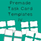Task Card Frames and Borders 4 - Template