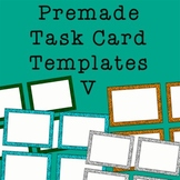 Task Card Frames and Borders 5 - Template