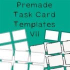 Task Card Frames and Borders 7 - Template