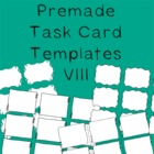 Task Card Frames and Borders 8 - Template
