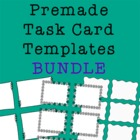 Task Card Frames and Borders BUNDLE - Template