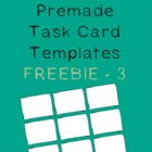 Task Card Frames and Borders FREEBIE - 3 - Template