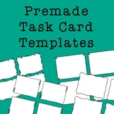 Task Card Frames and Borders - Template