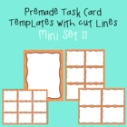 Task Card Template - Mini Set 11 - frames - borders