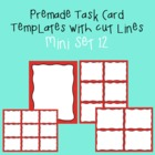 Task Card Template - Mini Set 12 - frames - borders